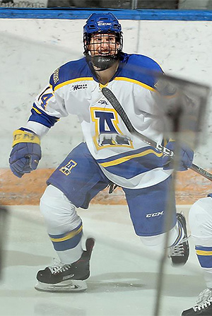 WCHA: Nanooks' Blaszczak Has Fighting Spirit