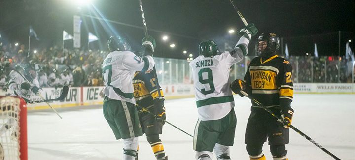 WCHA: Bemidji's 'Hockey Day' Win, A Special Moment For Many