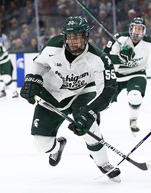 1e291c9c0 Michigan State's Khodorenko Helps Lead the Best Trio In College Hockey