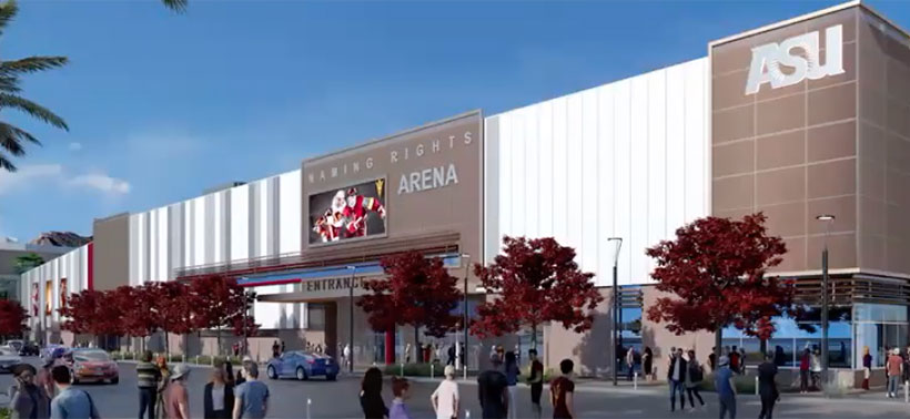 ASU Committee Approves New Arena Plan : College Hockey News