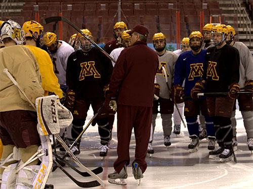 NCAA: Frozen Four Notebook - Minnesota