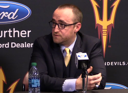 Arizona State club coach Greg Powers will remain in his post as the team moves to Division I.