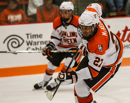 Bowling Green hopes to make a big move this year after barely missing the NCAA's last season.